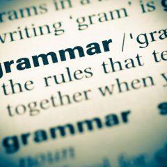 Conventional Thinking: Grammar & gender follies