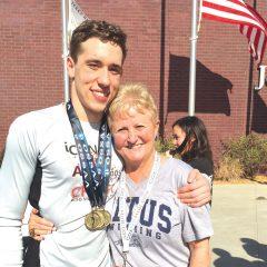 Discipline and dedication keys Brown's swimming success