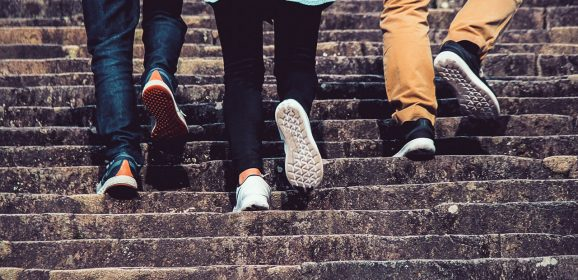 Conventional Thinking: 'Take the stairs'